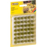 Noch 07027 Ciuffi d'erba XL verde estivo 42 pezzi h 12 mm