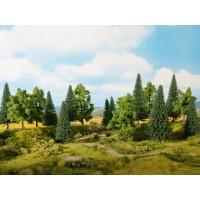 Noch 24620 Alberi misti decidui+conifere 8 pezzi h 10-14 cm
