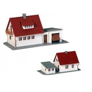 Faller 232531 Villetta singola con garage kit 1:160