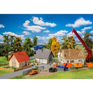 Faller 190067 Set promozionale edifici in costruzione kit 1:87