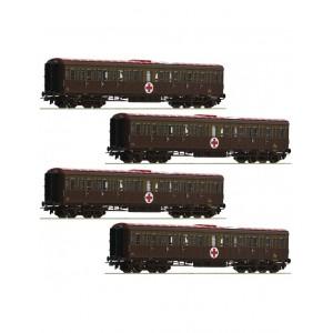 Roco 74093 Il Treno Ospedale Fs 4 carrozze