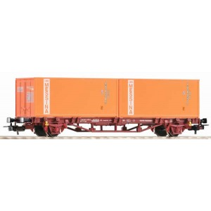 "Piko 97061 Carro pianale container ""Messina"" Fs"