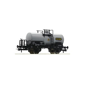 Roco 76303 Carro cisterna Fs tipo Uh a due assi