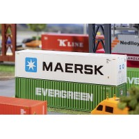 """Faller 180847 Container """"Maersk"""" 1:87"""