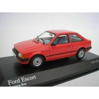 Maxichamps 085000 Ford Escort III 1981 Red