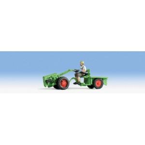 Noch 16750 Moto trattore con conducente 1:87