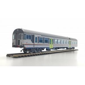Vitrains 3199 Carrozza pilota passante Livrea DTR Trenitalia