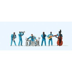 Preiser 10112 Jazz Band scala 1:87-H0