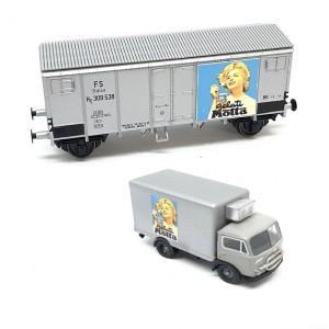 Blackstar BS00064 Set carro Hg Fs Motta + camion Fiat