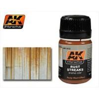 AK Interactive AK-013 Prodotto per colature di ruggine-rust (35ml)