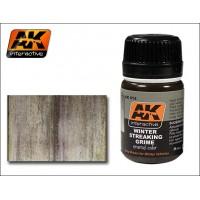 AK Interactive AK-014 Prodotto per colature di sporco invernale (35ml)