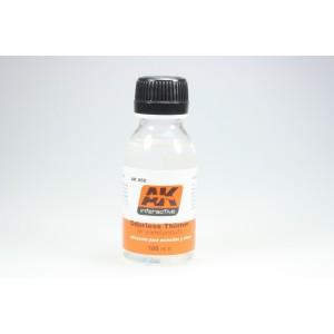 AK Interactive AK-050 Diluente inodore per smalto (100ml)