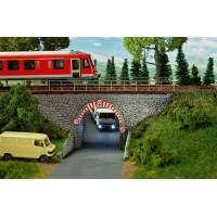 Faller 120498 Sottopasso stradale ferroviario H0